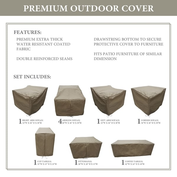 kathy ireland Homes & Gardens RIVER-10b Protective Cover Set. Opens flyout.