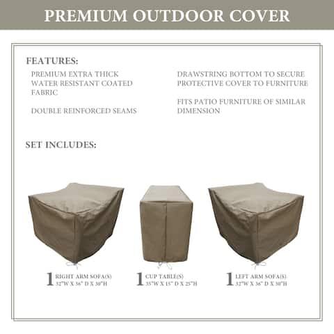 kathy ireland Homes & Gardens RIVER-03b Protective Cover Set