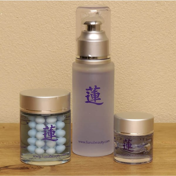 Liana Vinessence Grape-seed Herbal Skin Care Set