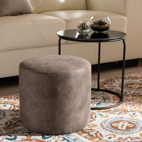 Carbon Loft Vanderveen Kira Modern and Contemporary 2-piece Nesting Table and Ottoman Set