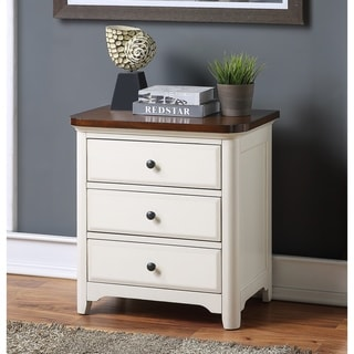 Kimball Two-Tone Nightstand by Greyson Living