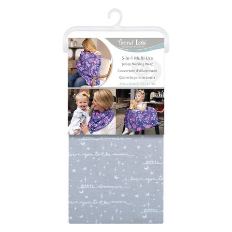 Little Dreamer Multi-Use Nursing Wrap - Grey