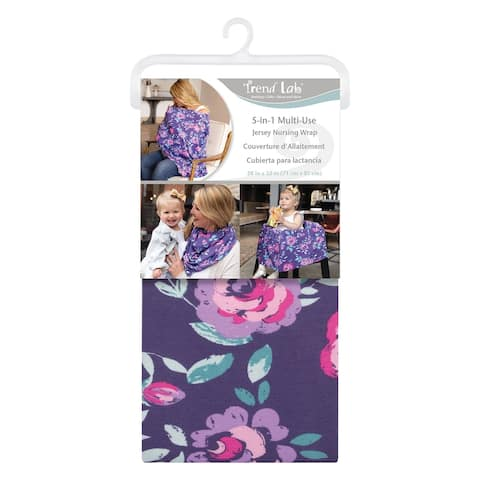 Flora Multi-Use Nursing Wrap - Blue
