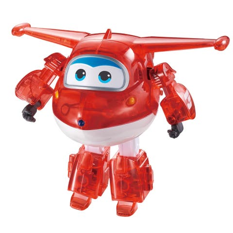 Super Wings Limited Edition 5 Inch X Ray Series Transforming Jett Figure