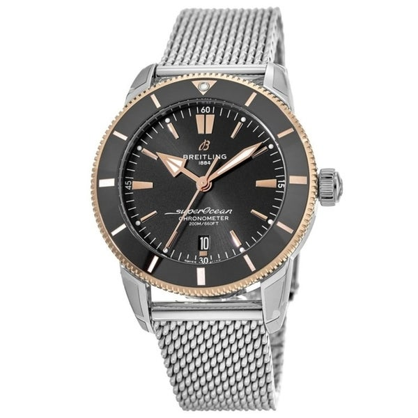 Breitling Men's UB203012-BG52-154A 'Superocean Heritage II' Stainless Steel Watch. Opens flyout.