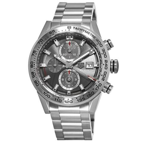 Tag Heuer Men's CAR208Z.BF0719 'Carrera' Chronograph Automatic Titanium Watch
