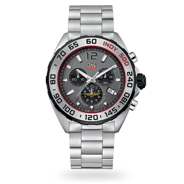 Tag Heuer Men's CAZ1016.EB0058 'Formula 1' Chronograph Stainless Steel Watch. Opens flyout.
