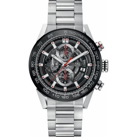 Tag Heuer Men's CAR201V.BA0714 'Carrera' Chronograph Automatic Stainless Steel Watch