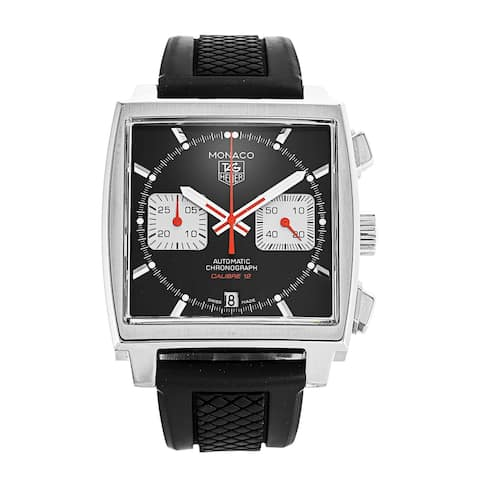 Tag Heuer Men's CAW2114.BA0780 'Monaco' Chronograph Automatic Stainless Steel Watch