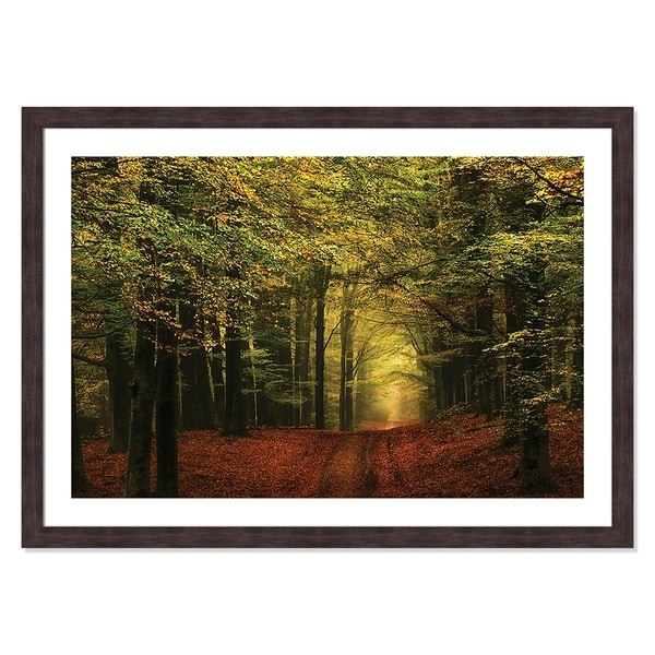 A Forest Path - 42'' x 30''