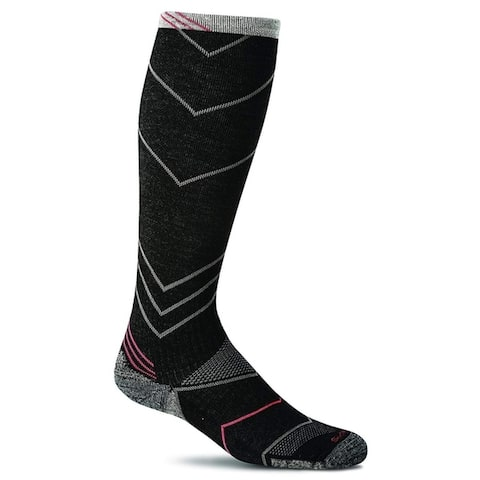 Sockwell Mens Shadow Box Socks - Black - Large/X-Large