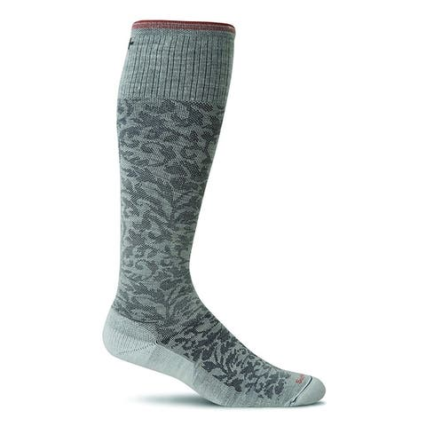 Sockwell Womens Damask Socks - Small/Medium - Oyster