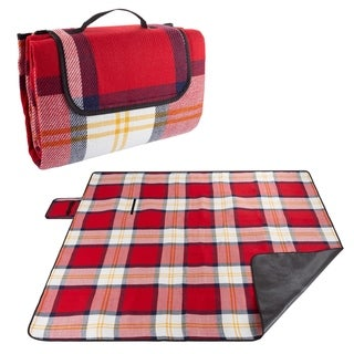 Link to Waterproof Picnic Blanket with Foam Padding by Wakeman Outdoors - 80 x 70 x 1 Similar Items in Picnic
