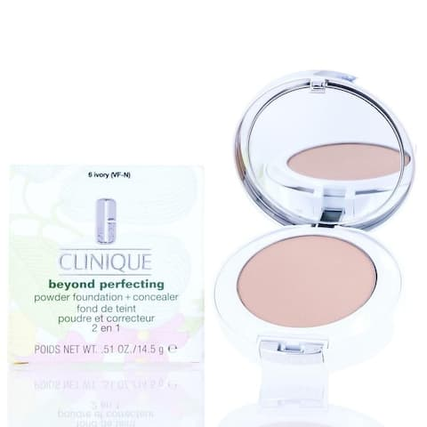 Clinique Beyond Perfecting Powder Foundation and Concealer (06 Ivory) 0.51 Oz