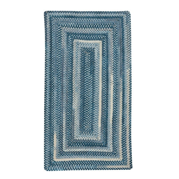 """Alliance Denim Braided Rugs Concentric Rectangle Rug - 8' x 24"""""""