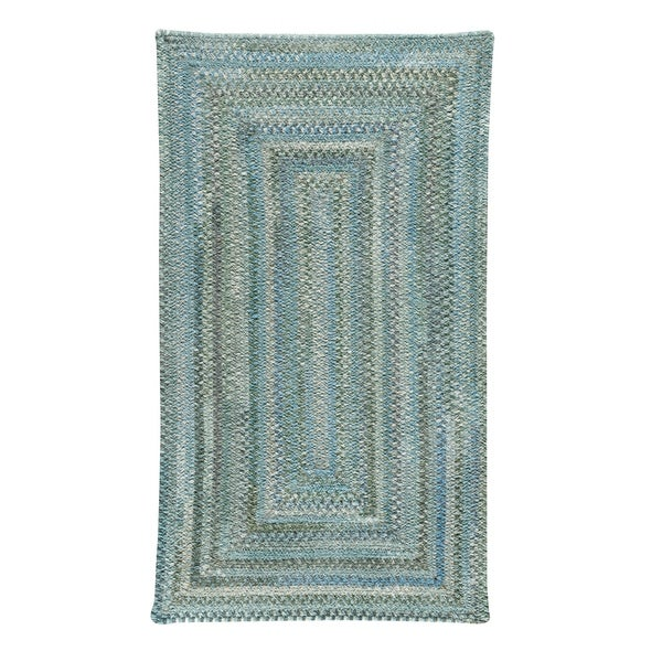 Alliance Thyme Braided Rugs Concentric Rectangle Rug - 8' x 24""