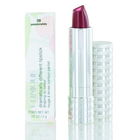 Clinique Dramatically Different Lipstick Shaping Lip Colour (39) Passionately 0.10 OZ