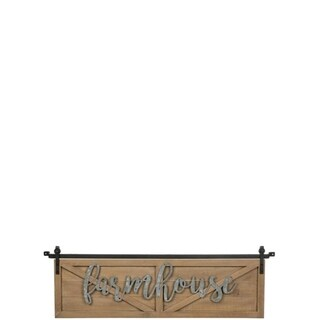 Farmhouse Over-the-Door Wall Decor