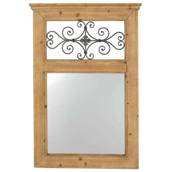 Window Frame Wall Mirror