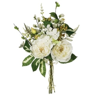 Peony, Hydrangea & Sweet Pea Bush