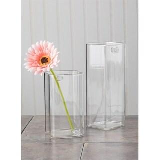 Glass Wall Pockets - Set of 2