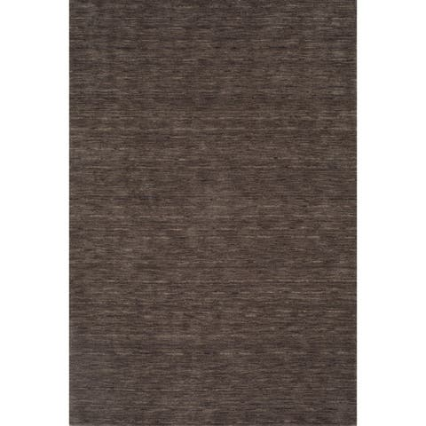 Addison Cooper Multi Shade Solid Wool Area Rug