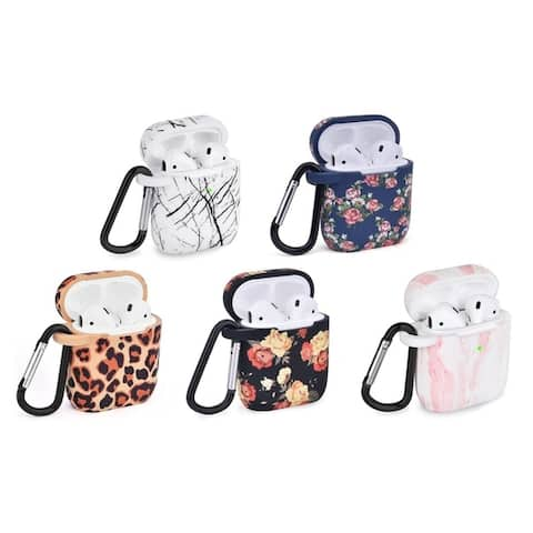 AirPod Case Cover with Keychain Carabiner