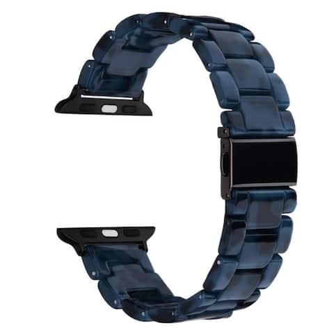 Resin Bracelet Band for Apple Watch Series 1, 2, 3, and 4