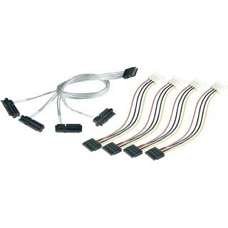Adaptec Serial Attached SCSI (Controller-based) Fan-out Cable
