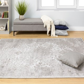Paladin Grey White Transitional Rug