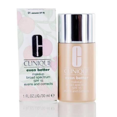Clinique Even Better Makeup Spf 15 1.0 Oz (01 Alabaster)