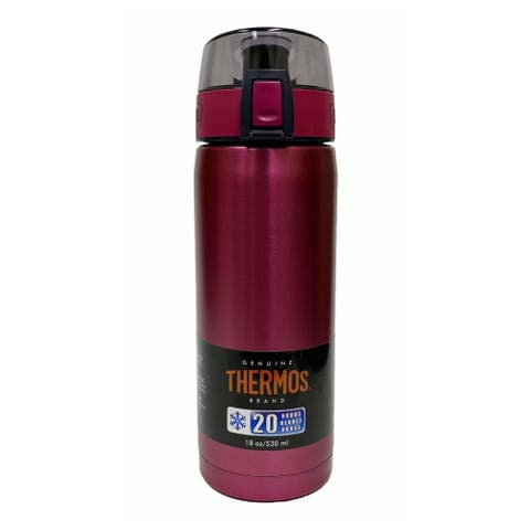 Thermos 18-Ounce Stainless Steel Vacuum Insulated Hydration Bottle - Purple - Aubergine