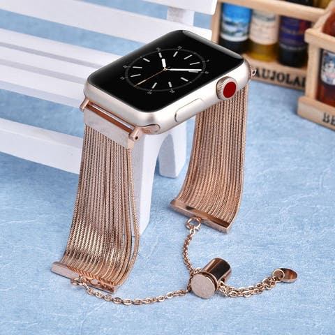 Fringe Bracelet Bangle for Apple Watch Series 1, 2, 3, and 4