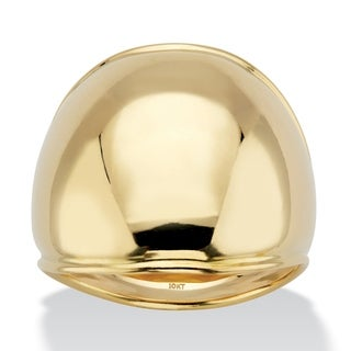 Link to 10K Yellow Gold Dome Ring Similar Items in Rings