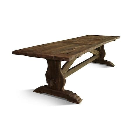 VINROLD Solid Wood Dining Table
