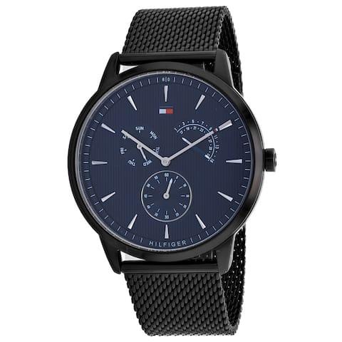 Tommy Hilfiger Men's Gents Black Dial Watch - 1710392