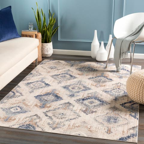 The Curated Nomad Martell Distressed Moroccan Area Rug