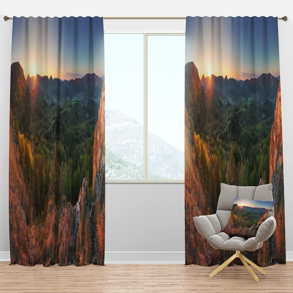 Design Artdesignart Spring Forest Slovakia Landscape Photography Curtain Panel 50 In Wide X 84 In High 1 Panel Dailymail