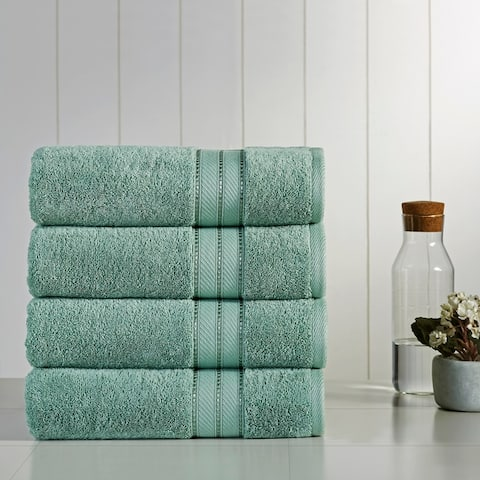 Amrapur Overseas 4 Pack SpunLoft Bath towel - 30x54