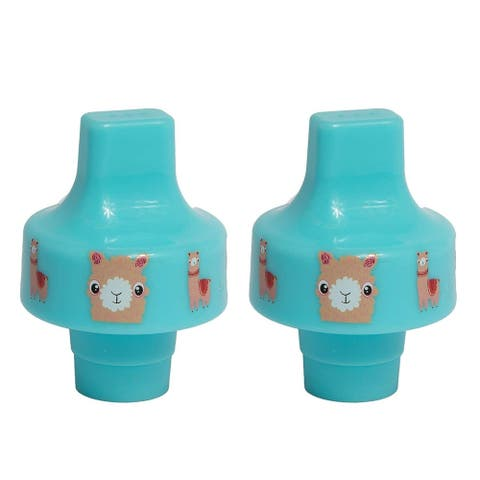 Sippy Top Kid Bottle Adapter, fit most water bottle (2-Pack)