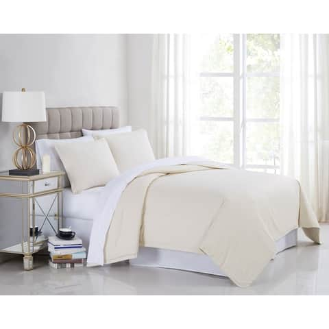 Porch & Den Murlea 400TC Percale Cotton Duvet Cover Set