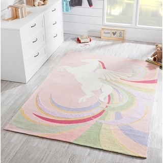 Momeni Lil Mo Classic Hand Hooked Cotton Area Rug