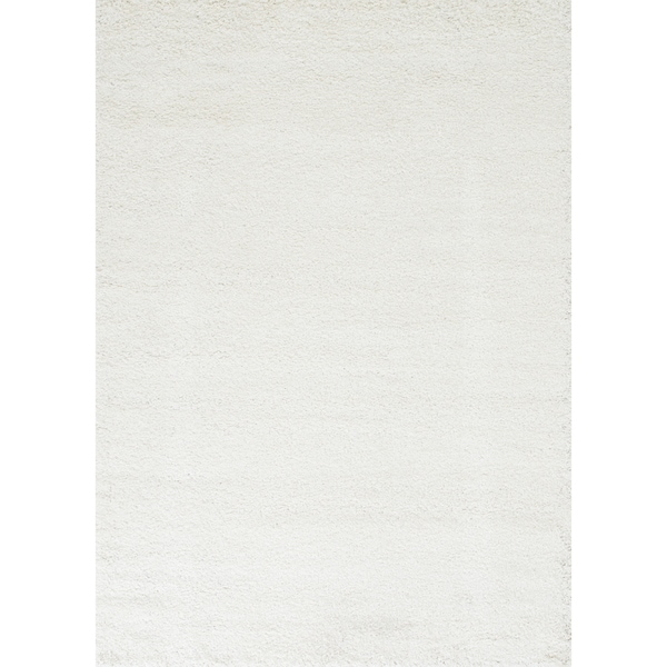 Lucas Solid Ivory 8 x 10 Area Rug