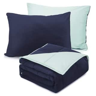 Nestl Bedding Reversible Kids Weighted Blanket and Pillowcase Set