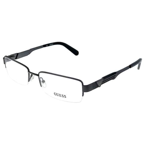 Guess GU 1781 GUN 55mm Unisex Gunmetal Frame Eyeglasses 55mm