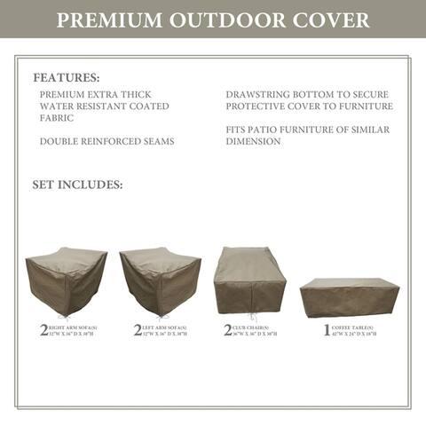 kathy ireland Homes & Gardens RIVER-07e Protective Cover Set