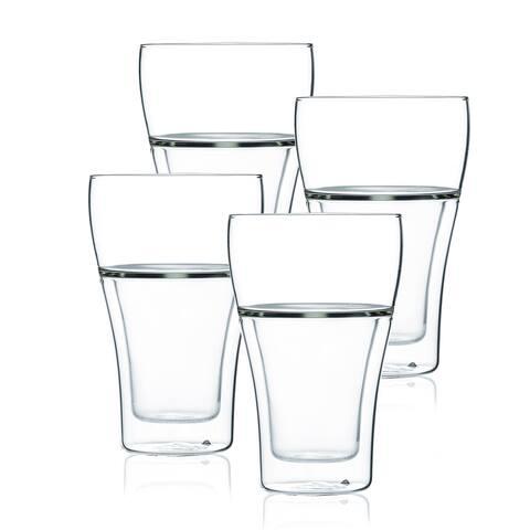 JavaFly Glass, Set of 4, 8.6 oz
