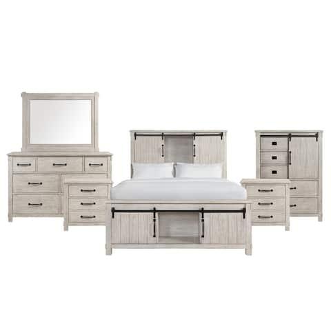 Picket House Furnishings Jack Platform Storage 6PC Bedroom Set