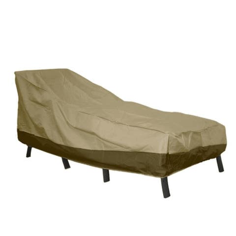 Patio Armor Breathable Patio Chaise Lounge Cover