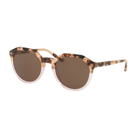 Tory Burch TY7130 175473 52 Blush Tortoise / Blush Woman Irregular Sunglasses